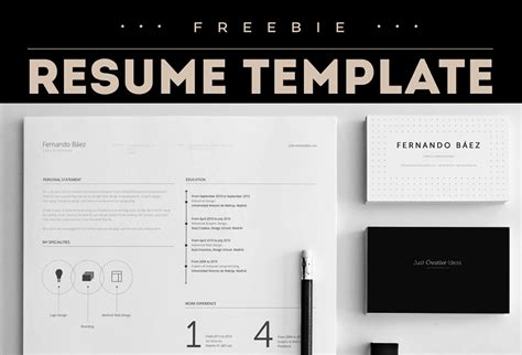 Resume Template Fernando Baez Zip by Free Resume Template