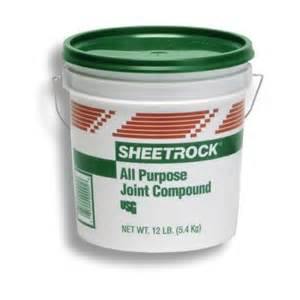 home depot drywall mud sheetrock brand 1 gal all purpose pre mixed joint