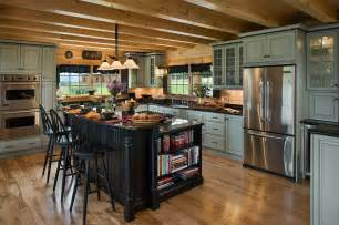 Log Cabin Kitchen Ideas Rustic Kitchens Design Ideas Tips Inspiration