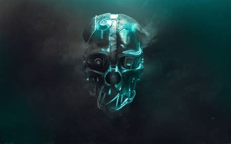 dishonored game mask wallpaper  hd wallpapers