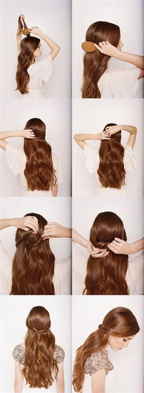 13 five minute hairstyles and hairstyles