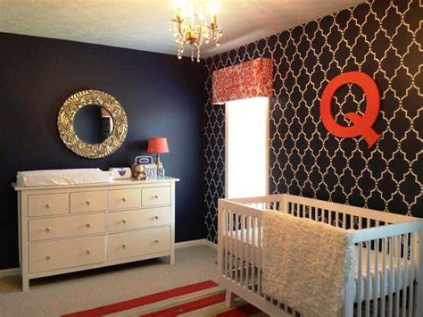 Coral And Navy Nursery by Readers Favorite Quincy S Navy Coral And White Nursery