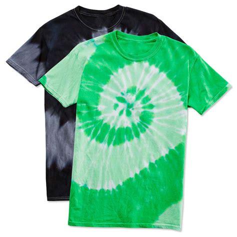 design t shirt tie dye custom dyenomite 100 cotton two tone spiral tie dye t