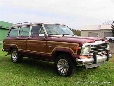 1986 Jeep Wagoneer Mpg Find Used 1986 Jeep Grand Wagoneer In Shippensburg