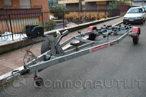carrelli porta imbarcazioni usati vendo carrello porta imbarcazione satellite