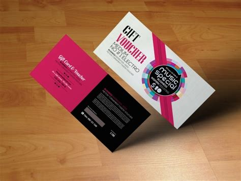 21 Gift Card Designs Psd Vector Eps Jpg Download Freecreatives Business Gift Card Template