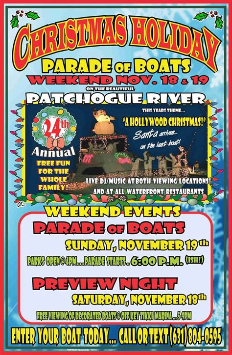 patchogue christmas boat parade 2017 patchogue village christmas holiday boat parade posts