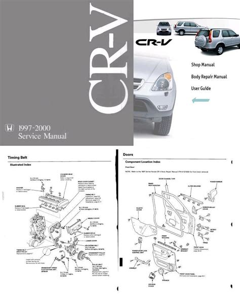 repair manual honda cr v shop manual and body repair manual automotive heavy equipment