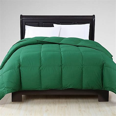 green down comforter buy vcny reversible down king comforter in green from bed