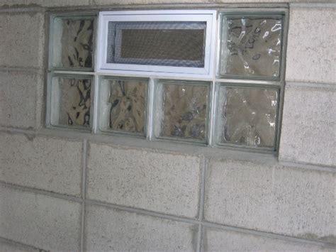 glass block basement window installation glass window glass block basement window installation