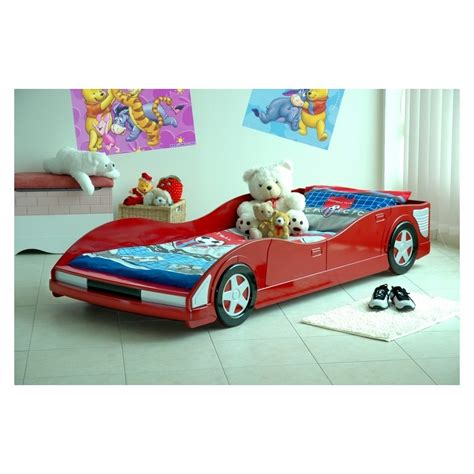 Car Bed Frames Bed Greta Cool Wooden Kidsu0027 Single Bed Unfinished Wood Bed For Toddler With Headboard
