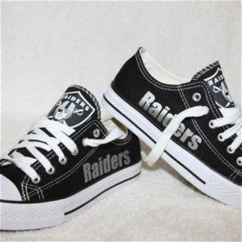raiders sneakers raiders custom shoes get ya gear up custom clothing