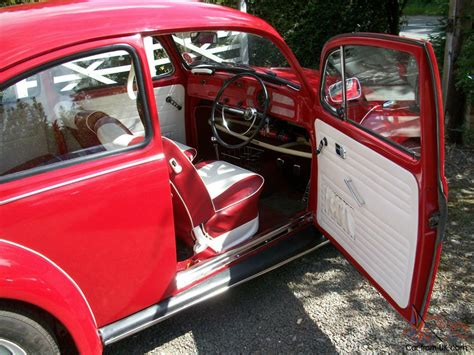 Vw Beetle Custom Interior by Fully Restored 1971 Classic Vw Beetle 1300 Rutland Custom Interior