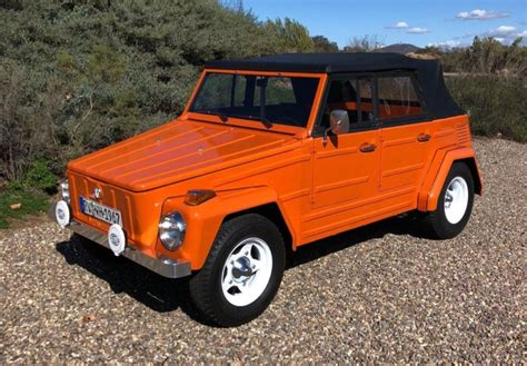 Volkswagen Things by 1973 Volkswagen Thing For Sale On Bat Auctions Closed On