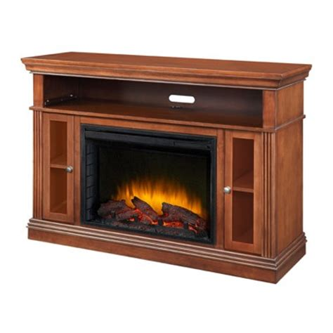 Bjs Electric Fireplace Tv Stand by Pleasant Hearth Richmond Media Console Electric Fireplace
