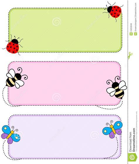http www topcard tag templates pic m header card desig jpg insect header stock vector illustration of dash artwork