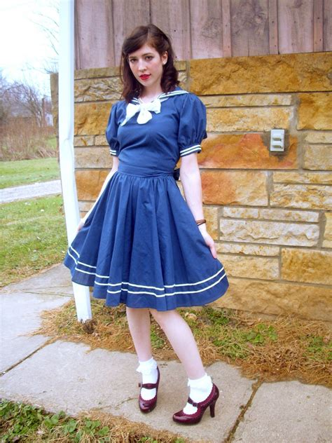 Clothes My Back 2132008 by 60 S Sailor Dress Sailor Dresses Are My