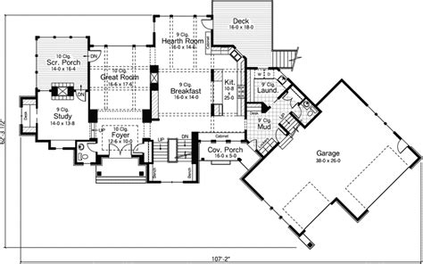 english house floor plans tudor hill english cottage home plan 091d 0504 house