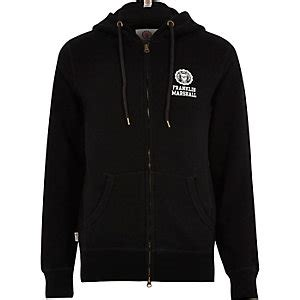 Hoodie Black Marshall Mbsa Clothing hoodies s hoodies river island