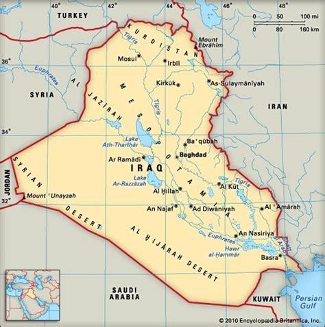 rivers in iraq map euphrates river iraq map