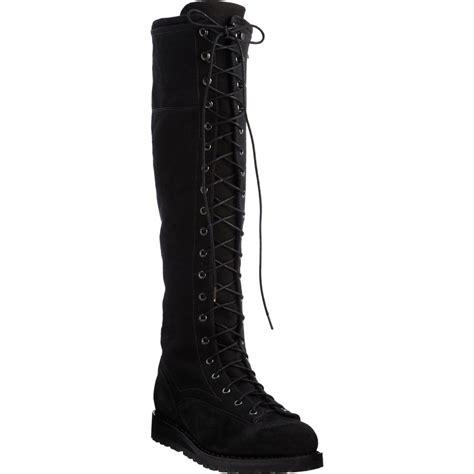 rag bone knee high combat boot in black lyst
