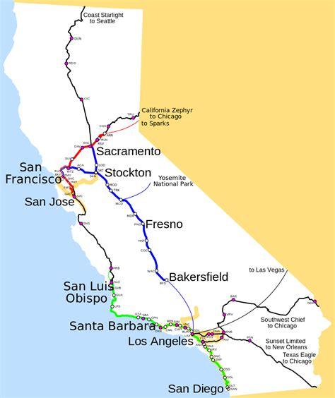 amtrak california station map amtrak california map svg
