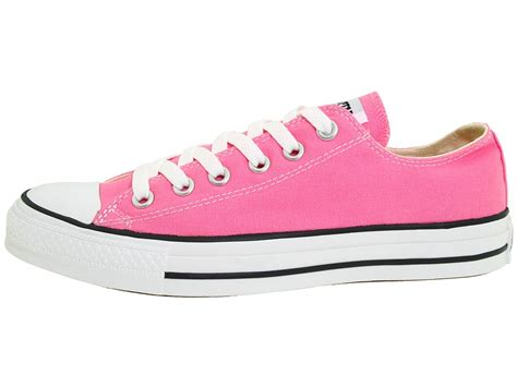 converse all chuck ox pink womens new shoes ebay