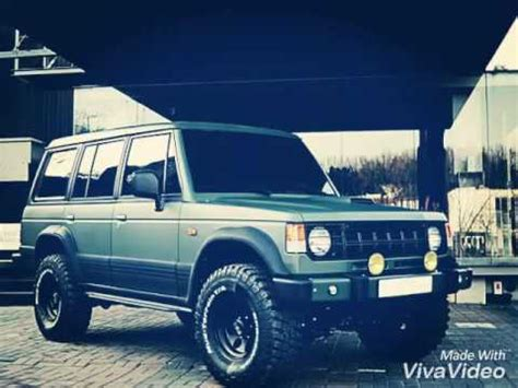 mitsubishi pajero modified mitsubishi 1989 pajero modified youtube