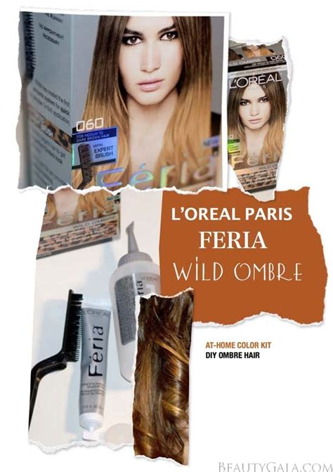 review with before and after photos loreal feria hair new l oreal paris feria wild ombre hair kit photographs