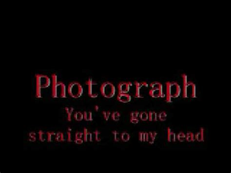 "def leppard's ""photograph"" with lyrics youtube"