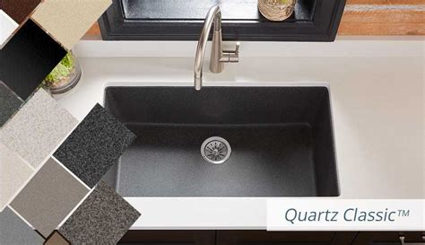 ELKAY   Quartz Kitchen Sinks. Bold Granite Colors. Sleek Luxe and Classic Style.