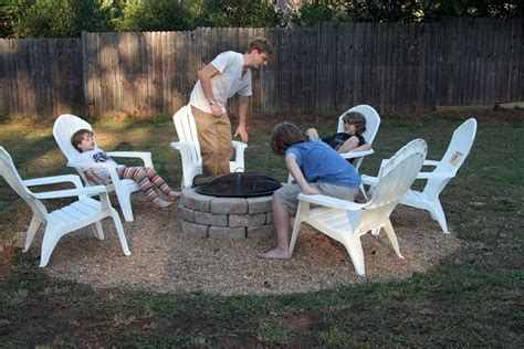 Hometalk Make An Inexpensive Backyard Fire Pit Cheap Backyard Pit Ideas