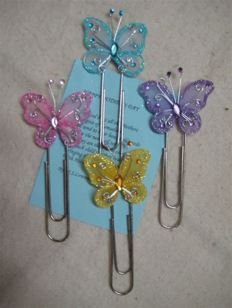 Paper Clip Craft - butterfly paper craft club