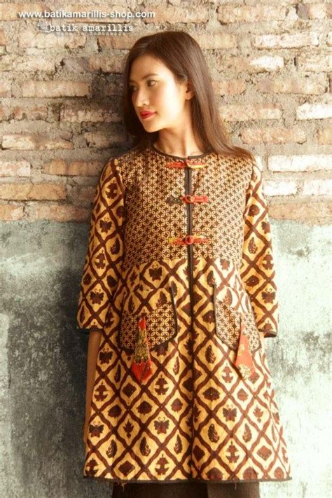 Outer Vest Kimono Wanita Lewa Outer indonesia and style on