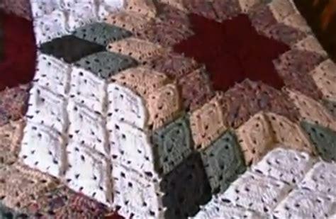 piastrelle uncinetto per coperte coperta uncinetto effetto stella