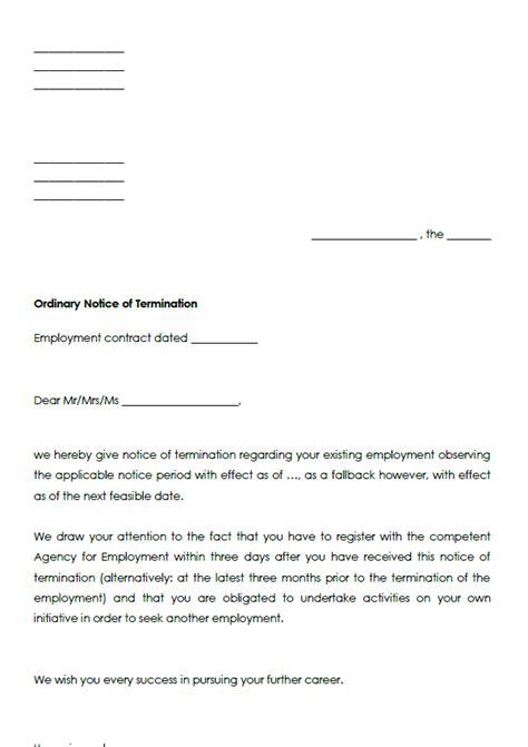 Vorlage Kündigung Abo Englisch gro 223 artig vorlage f 252 r vertragsbeendigung fotos