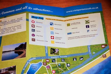 leaflet design portsmouth design of southsea common leaflet for portsmouth city