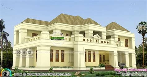 colonial style 5 bedroom victorian style house kerala 418 square meter 5 bedroom home colonial style kerala