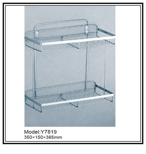 Stainless Steel Bathroom Shelves by China Stainless Steel Shelf Bath Basket Multifunctional