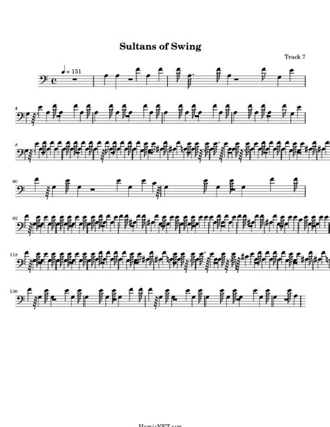 sultans of swing lyrics sultans of swing sheet sultans of swing score