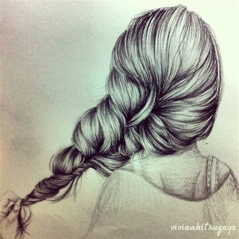 Drawing Braids by Braided Hairstyles Drawings