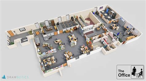 floor layout design tv shows brought to with 3d plans drawbotics