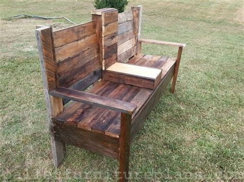 pallet benches wooden pallet bench plans recycled things