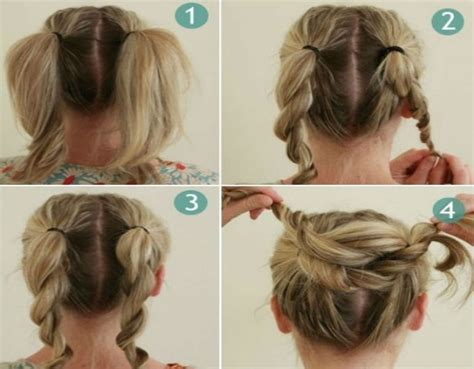 howtodo a twist in thefringe step by step bun hairstyles for your wedding day with detailed steps