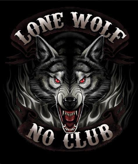 Tshirt Believe 019 Riders Clothing leathers black lone wolf biker t shirt 545 019 j p