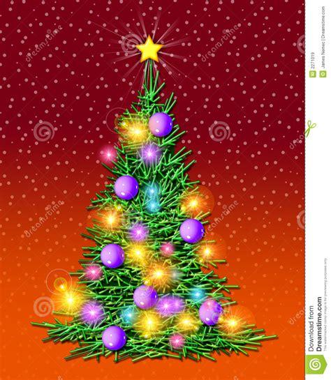 193 rbol de navidad iluminado im 225 genes de archivo libres de