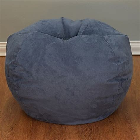 bean bag chair bed large microsuede bean bag chair bed bath beyond
