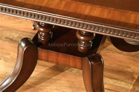 dining table seats 10 12 mahogany dining table with inlay seats 10 12