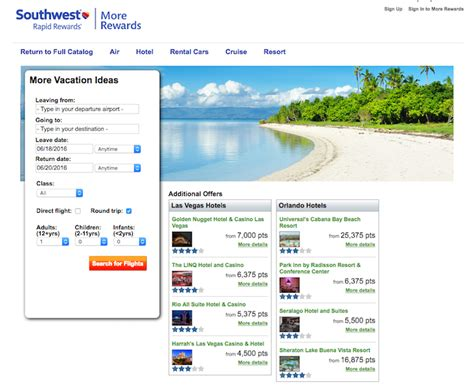 Where Can You Buy A Southwest Gift Card - southwest rapid rewards cheat sheet great ways to use and earn points milecards com