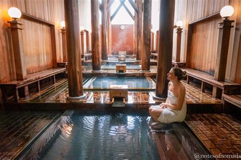 Stone Baths kusatsu onsen one of the best hot springs in japan